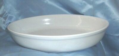 CASSEROLE BAKING DISH Oval Made in Portugal White