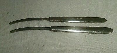 "Antique  ""willm's Balto "" Marked Scalpel - Medical Instruments"