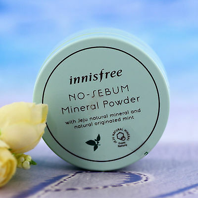 INNISFREE No Sebum Mineral Powder 15g for Oily Skin Korean
