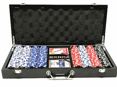 Poker Chip Set with 400 chips