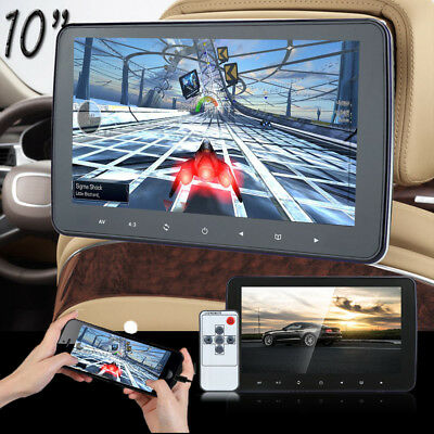 "10"" HD Digital LCD Screen Car Headrest Monitor MP5/MP3/TV/IR/FM Radio Player"