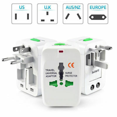Universal World USA/EU/UK/AU Reisestecker Travel Adapter International Stecker