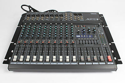 Yamaha MX12/4 12 Input 4 Bus Digital Effects Analog Mixing Console w/ Rack Ears