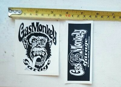 gas Monkey Decal,Vinyl, Sticker,Car, Van,4x4,Funny, Bumper Laptop Toolbox