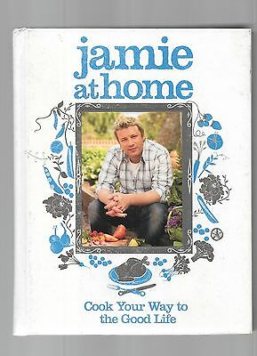 Jamie At Home + Happy Days With The Naked Chef, 2 x Jamie Oliver books