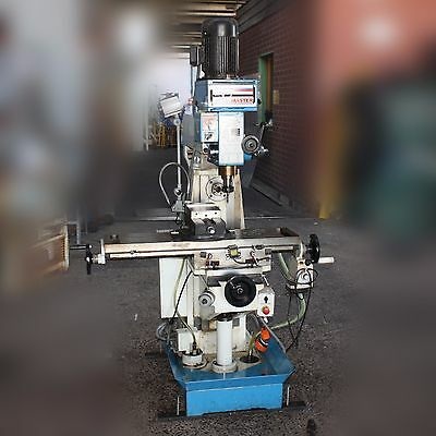 HAFCO METALMASTER Horizontal Vertical Mill Milling Machine 30OINT 415V HM52G