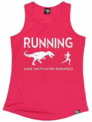 Running Some Motivation Required WOMENS DRY FIT VEST birthday gym running gift
