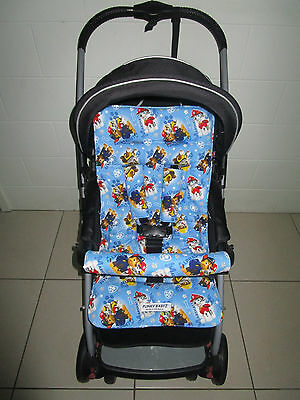 FUNKY BABYZ-Paw Patrol reversible universal pram liner-Size,Buy Covers options