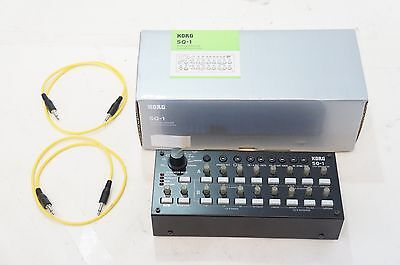 KORG SQ-1 CV/GATE MIDI 2 x 8 Analog Step Sequencer World Ship
