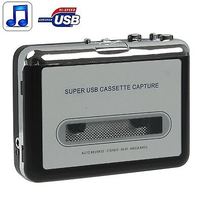 i-TECH Tape to PC Super USB Cassette to MP3 Converter Capture Audio Music Player