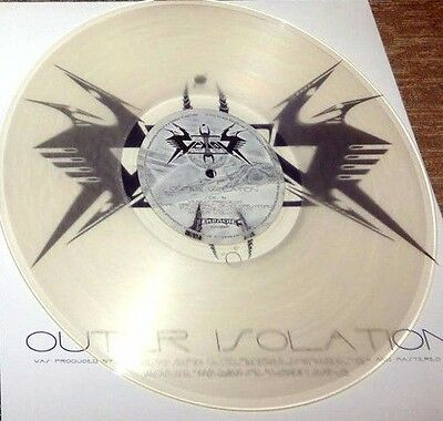 VEKTOR – Outer Isolation – CLEAR LP (LTD 200) – 1'st press vinyl – NEW & SEALED
