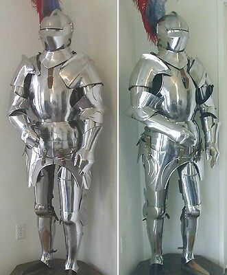 New Medieval Knight Suit of Armor, 15th Century Combat Full Body Armour