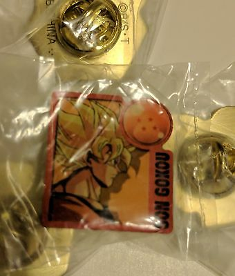 Dragon Ball z Pin collectible Japan anime son goku gokou DBZ super saiyan