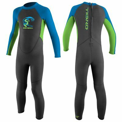 O'Neill Full Suit Toddler Reactor Kinder Neopren Neoprenanzug Schwimmanzug blue