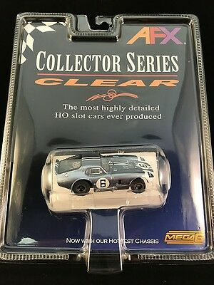 Afx Mega G Cobra Daytona Coupe #6 Collector Series Clear Aurora Tomy