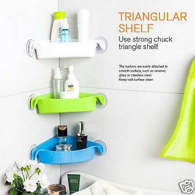 Suction Cup Storage Rack Shelf for Bathroom & Kitchen Gadget,2 kg Max Bearing