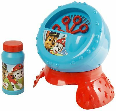 Paw Patrol Bubble Blower Machine Kids' Garden Party Toy With Liquid Solution