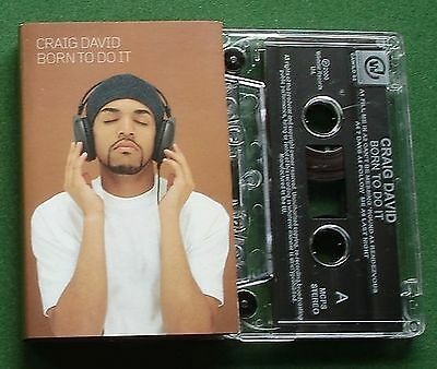 Craig David Born To Do It inc Time To Party / Last Night + Cassette Tape TESTED
