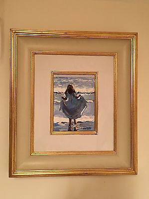 'Paddling In The Sea' by Sherree Valentine Daines, Original Oil Painting