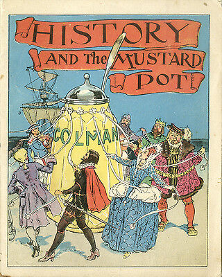 Colmans Mustard History and the mustard pot METAL TIN SIGN WALL PLAQUE