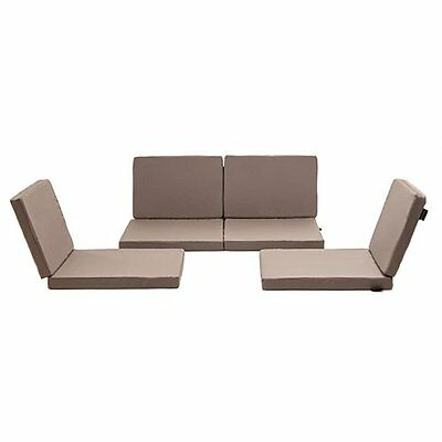 Outdoor Furniture Cushion Cover Set Replacement for 4 seat outdoor sofa sets.