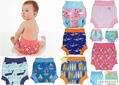 Baby Girls Boys Splash About Happy Nappy Swimming Reusable Neoprene Swim Pants