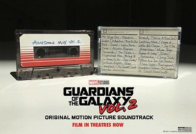 Guardians of the Galaxy: Awesome Mix Volume Two Vol. 2 RARE TAPE! Ready to ship!
