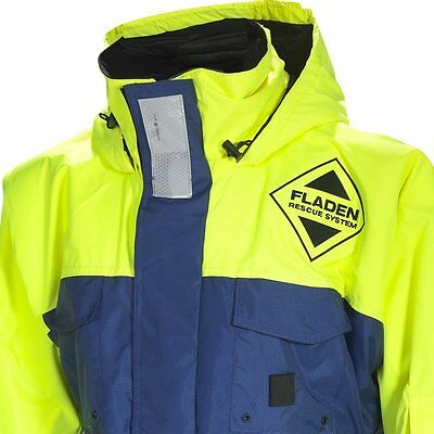 FLADEN RESCUE SYSTEM - Blue and Yellow SCANDIA Flotation Jacket - Marine and -