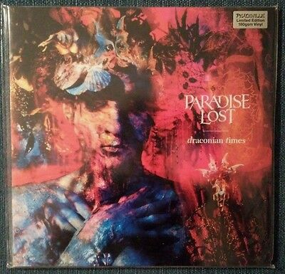PARADISE LOST – Draconian Times – machine NUMBERED 2LP (LTD 2000) – NEW & SEALED