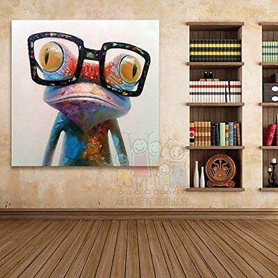 Modern hand-painted Art Oil Painting Wall Decor Canvas Abstract High Quality NEW