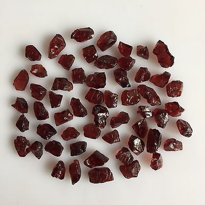 150 Ct Scoop Natural Garnet Red Rough Gemstones Loose Wholesale Lot Raw Mineral