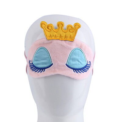 Sleeping Mask Eyeshade Cartoon Blindfold Cover Travel UK seller