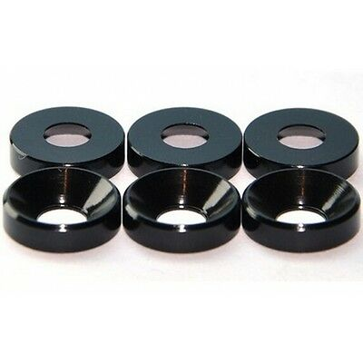 Aluminum Alloy Black Color M4 4mm Countersunk Head Washers Bolt Screw Cup