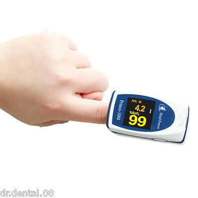 Free Shipping Portable LCD Fingertip Pulse Oximeter Prience-100I
