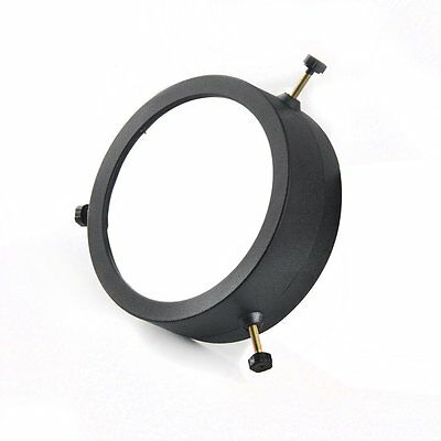 Solomark Deluxe Adjustable 86-117 Mm Inside Diameter Solar Filter, Baader Film,