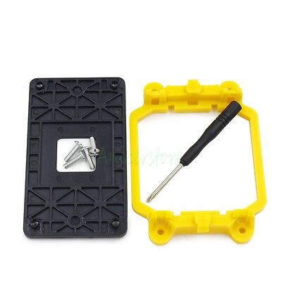 Bracket + Plastic Backplate For AMD CPU AM2/AM3/FM1/FM2/940/939 Mounting Base
