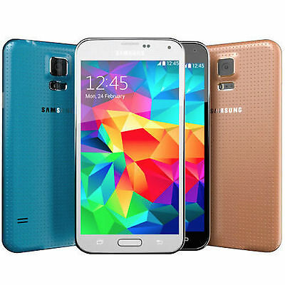 Samsung Galaxy S5 SM-G900A AT&T (GSM Unlocked) Smartphone 16/Black White