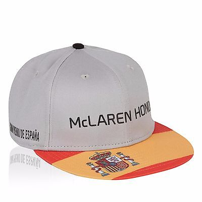 McLaren Honda F1 Official Adults Special Edition Spain cap 9Fifty -  Size S/M