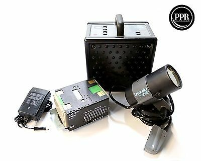 Broncolor Mobil 1200w/s Power Pack With Battery and Mobilite Strobe Head Bundle