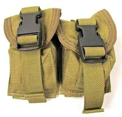 Eagle Allied Industries DGLCS Black Buckle Frag Grenade Pouch MBSS LBT SEAL MLCS