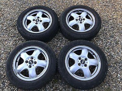 Mini Cooper Convertible Alloy Wheels X 4 Including Tyres R57