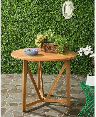 Round Teak Patio Table Gloster Whirl Round Teak Dining Table Indoor Outdoor  Patio