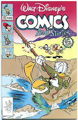WALT DISNEY'S COMICS & STORIES #548 549, 550-552, NM, Mickey Mouse,more