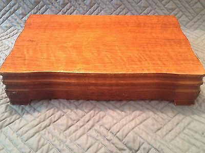 """VTG Rogers Bros """"America's Finest Silverplate"""" Wooden Flatware Chest box case"""