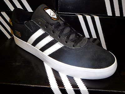 Adidas Skateboarding Gonz Pros Skate Shoes NIB New SALE Black/White Q33324