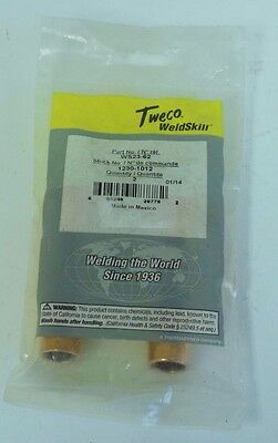 NEW 2 Pack Tweco WS23-62 Weldskill Nozzle 1230-1012 Pack of 2 FREE SHIPPING