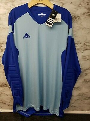 6468ab185f3 Adidas Mens Goalkeeper Goalie Jersey Mens Sz XL Padded Precio 14 GK New w  Tags