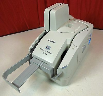 Canon M11061 Image Formula CR-25 Check Scanner. Free Shipping !