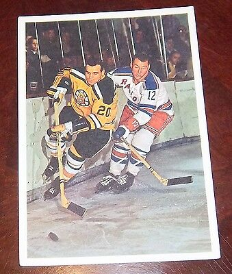 Toronto Stars in Action 1963-64 Leo Boivin Boston Bruins lot 4