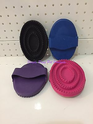 ~Roma Rubber Curry Horse Comb / 4 Colours / Large~